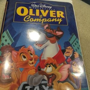 Walt Disney's Oliver and Company Vintage VHS Tape